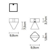 Потолочный светильник Fabbian TRIPLA F41 E01/02, фото 2
