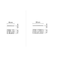 Настенно-потолочный светильник Fabbian TILE D95, фото 23