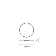 Настенно-потолочный светильник Fabbian OLYMPIC F45 G01/02/03/04/05/06, фото 10