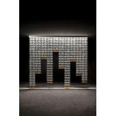 Настенно-потолочный светильник Fabbian TILE D95, фото 1