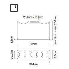Потолочный светильник Fabbian SOSPESA D42 A01/A15/A05/A19, фото 2