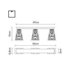Потолочный светильник Fabbian VICKY D69 E03, фото 2