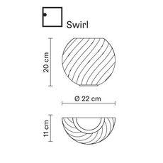Настенный светильник Fabbian DIAMOND&SWIRL D82 D98 00, фото 2