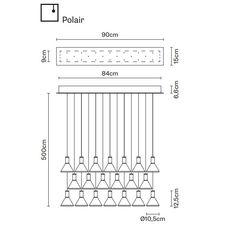 Подвесной светильник Fabbian MULTISPOT F32 A49/59, фото 2