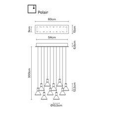 Подвесной светильник Fabbian MULTISPOT F32 A48/58, фото 1
