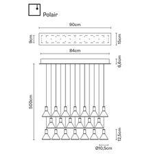 Подвесной светильник Fabbian MULTISPOT F32 A49/59, фото 1