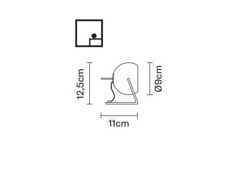 Настольный светильник Fabbian BELUGA COLOUR D57 B03, фото 2