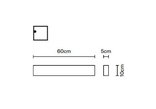 Потолочный светильник Fabbian SLOT F15 D02, фото 1