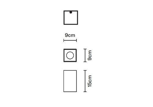 Потолочный светильник Fabbian SLOT F15 E01, фото 1