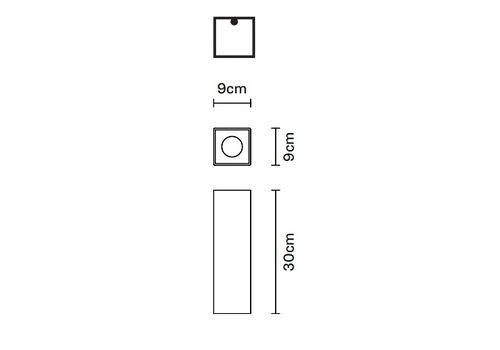 Потолочный светильник Fabbian SLOT F15 E03/04, фото 2