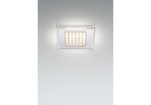 Встраиваемый светильник Fabbian QUADRILED F18 F01/02, фото 1