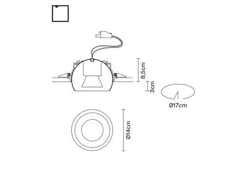 Потолочный светильник Fabbian TOOLS F19 F63, фото 2