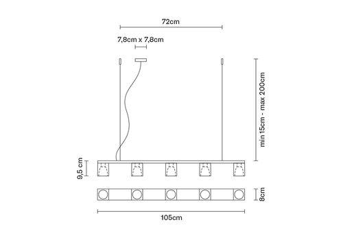 Подвесной светильник Fabbian CUBETTO D28 A05/A06, фото 4