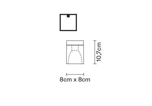 Потолочный светильник Fabbian CUBETTO D28 E01/02/03, фото 2