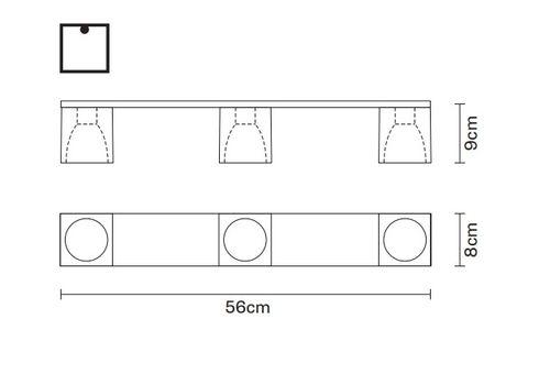 Потолочный светильник Fabbian CUBETTO D28 E04, фото 2