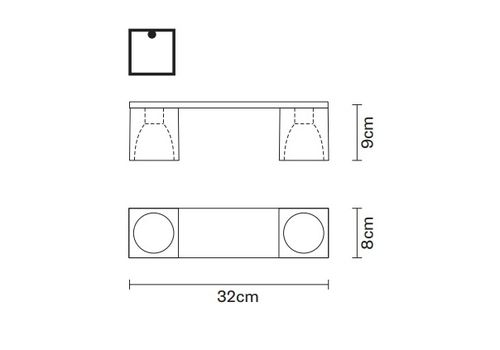 Потолочный светильник Fabbian CUBETTO D28 E05, фото 2