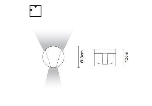Настенный светильник Fabbian JAZZ D52 G01/G02/G03, фото 2