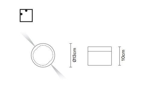 Настенный светильник Fabbian JAZZ D52 G05/G06, фото 2