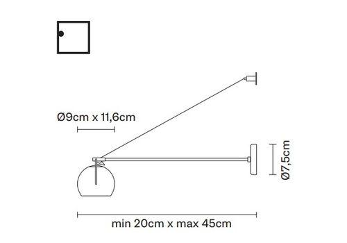 Потолочный светильник Fabbian BELUGA WHITE D57 G27/G29/G31, фото 2
