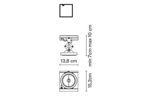 Встраиваемый светильник Fabbian ZEN D67 L37, фото 2