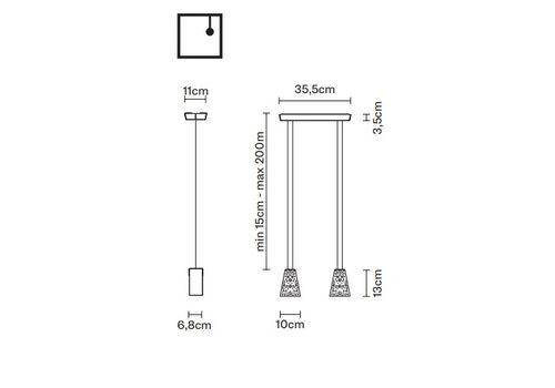 Подвесной светильник Fabbian VICKY D69 A03, фото 2