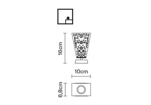Настольный светильник Fabbian VICKY D69 B01, фото 2