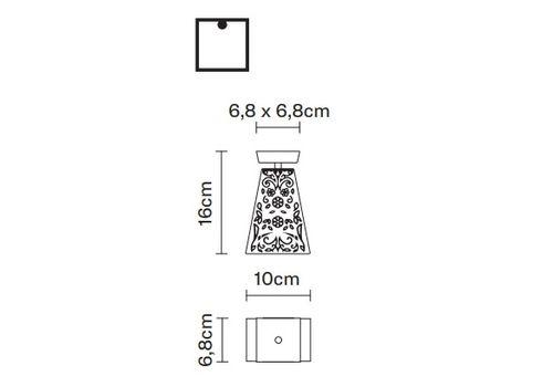 Потолочный светильник Fabbian VICKY D69 E01, фото 2