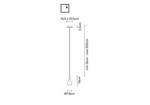 Подвесной светильник Fabbian BIJOU D75 A01, фото 2