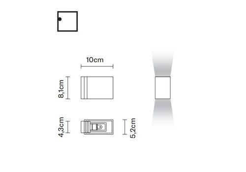 Настенный светильник Fabbian BIJOU D75 D07, фото 2