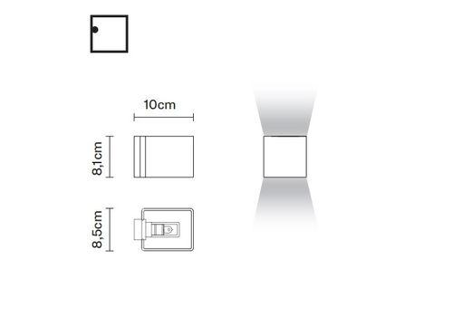 Настенный светильник Fabbian BIJOU D75 D15, фото 2