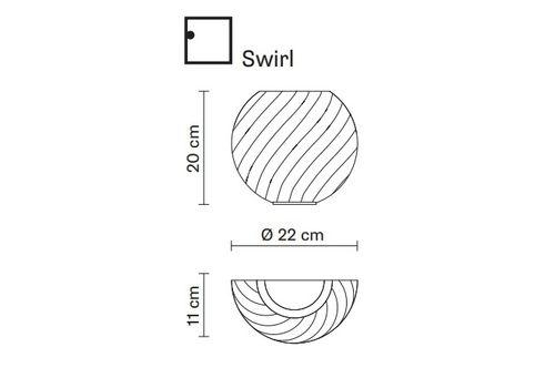 Настенный светильник Fabbian DIAMOND&SWIRL D82 D98, фото 2