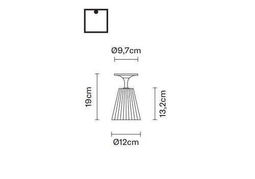 Потолочный светильник Fabbian FLOW D87 E01, фото 2