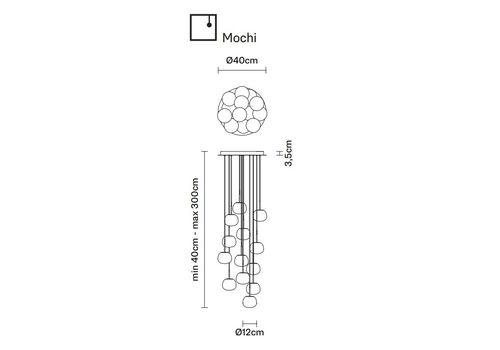 Подвесной светильник Fabbian LUMI F07 A29, фото 2