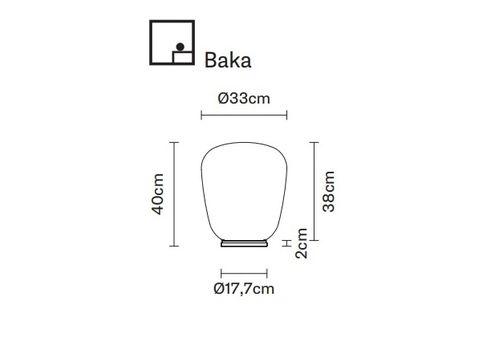 Настольный светильник Fabbian LUMI F07 B-Baka, фото 2