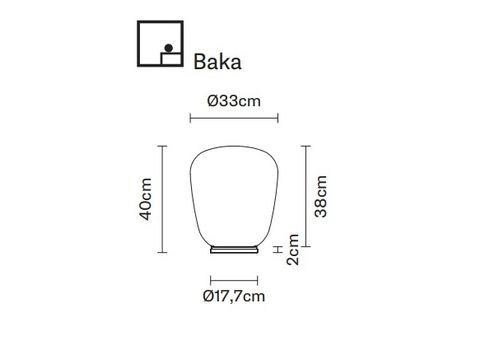 Настольный светильник Fabbian LUMI F07 B21/B41, фото 2