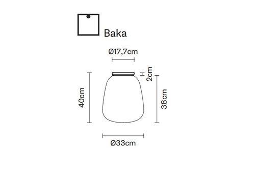 Потолочный светильник Fabbian LUMI F07 E-Baka, фото 2