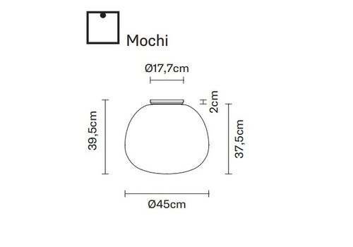 Потолочный светильник Fabbian LUMI F07 E05/E13, фото 1