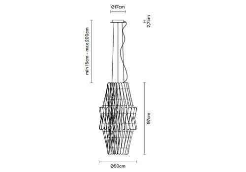 Подвесной светильник Fabbian STICK F23 A05/10, фото 2