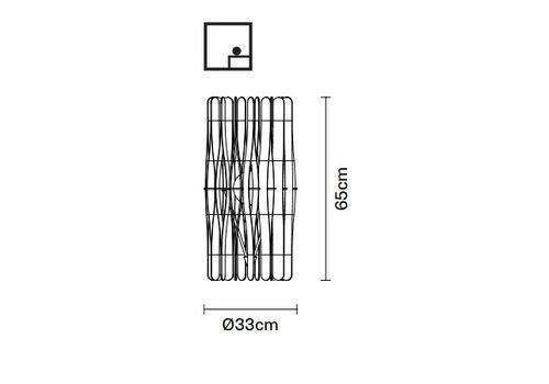 Настольный светильник Fabbian STICK F23 B01/02, фото 2
