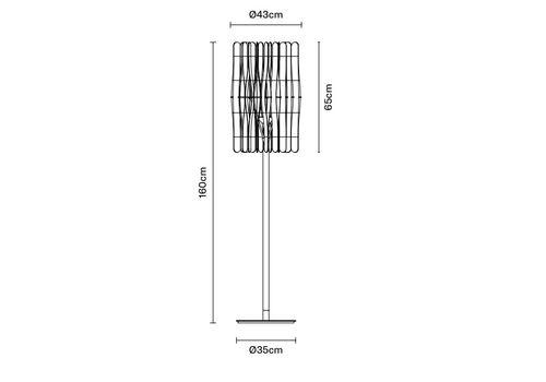 Напольный светильник Fabbian STICK F23 C01/05, фото 2