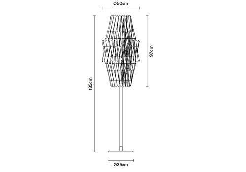 Напольный светильник Fabbian STICK F23 C04/08, фото 2
