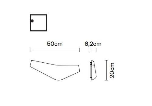 Настенный светильник Fabbian BOOMY F29 D01/D03, фото 2