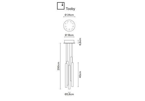 Подвесной светильник Fabbian MULTISPOT F32 A02/12, фото 1