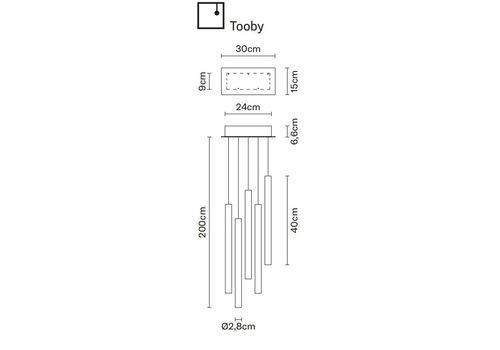 Подвесной светильник Fabbian MULTISPOT F32 A07/17, фото 1