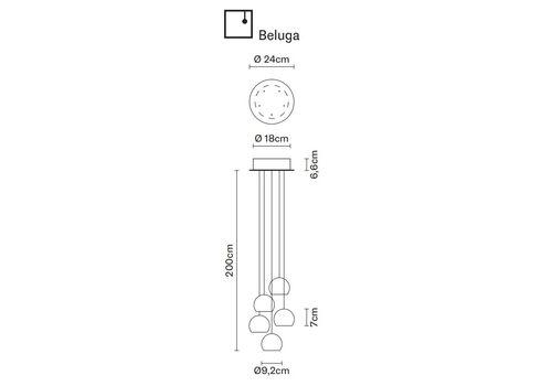 Подвесной светильник Fabbian MULTISPOT F32 A22 00, фото 2