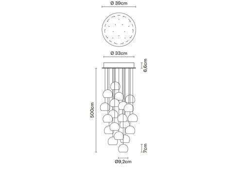 Подвесной светильник Fabbian MULTISPOT F32 A24 00, фото 2