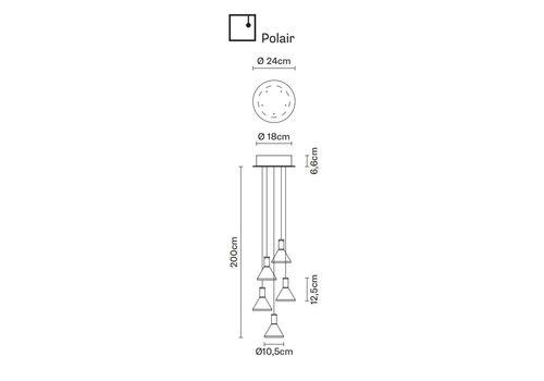 Подвесной светильник Fabbian MULTISPOT F32 A42/52, фото 1