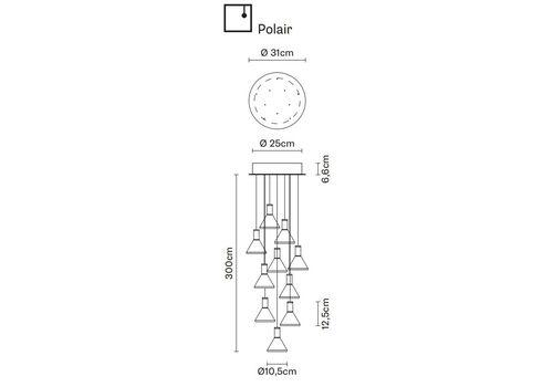Подвесной светильник Fabbian MULTISPOT F32 A43/53, фото 1