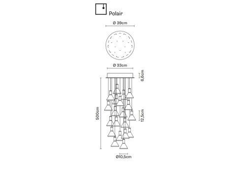 Подвесной светильник Fabbian MULTISPOT F32 A44/54, фото 1