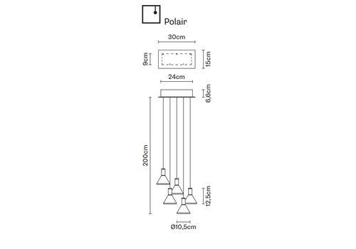 Подвесной светильник Fabbian MULTISPOT F32 A47/57, фото 1